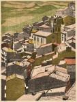 大坂忠司/OSAKA tadashi : GANGI 91×72.5 木版