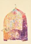 大久保澄子/OKUBO sumiko : 森への誘いⅤ-甦える森- A Temptation to the Forest Ⅴ 75×55 木版・銅版・コラグラフ
