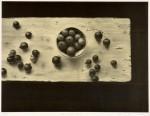 中畝 かほる/NAKAUNEkaoru:白いテーブル・15-271.5×87.5 平版・石版・雁皮刷り