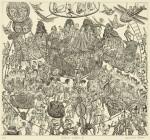 大野 弘道/ONOhiromichi:Festival Sixteen Ⅱ36×39.5 銅版