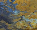 浜中 節子/HAMANAKAsetsuko:陰影(水面) F100 アクリル・油彩