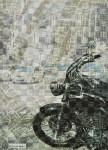 真木 欣一/MAKIkinichi:時代を編む 390×70 デジタルプリント・編み