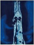 【奨励賞】澁谷 美求/SHIBUYA miku:青の気配 64×48 銅版