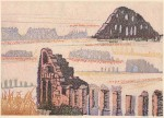 田中 令子 / TANAKA reiko : Aqueduct of Aspendos Ⅰ 37×55 木版