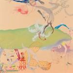 川野 美華 / KAWANO mika : 夜行性の庭 S100 油彩