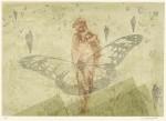 加藤 照夫 / KATO teruo : たおやかな風 36×51 銅版