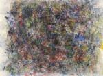 片山 憲二 / KATAYAMA kenji : じゅりんのしじま-あ 66×90 木版