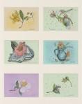 五十嵐美代子 / IGARASHI miyoko : 野の花シリーズ① 72×56 ミクストメディア
