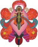 中山 里美 / NAKAYAMA satomi : Flower in Bloom 194×160 ミクストメディア