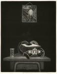 早乙女 務 / SOTOME tsutomu : 思い出のランドセル 36×28 銅版