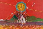仲村 勇 / NAKAMURA isamu : ボラボラ島 海の神 F120 油彩