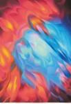 本田 耕一 / HONDA koichi : COSMIC ATLAS-1718 69×48.3 木版