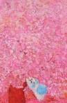 岩渕ケイ子 / IWABUCHI keiko : 咲く花の中に F120 油彩