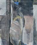 唐沢 弥生 / KARASAWA yayoi : 舟でわたる 194×162 油彩