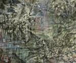 狩野三也子 / KANO miyako : 水の庭-環えるⅠ F130 油彩