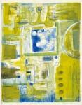 田川加代子 / TAGAWA kayoko : 梅雨の頃 83×65 平版