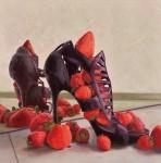 ブレンドレ ヨーグ / BURENDORE yo-gu : ICHIGO '17-4 S80 油彩