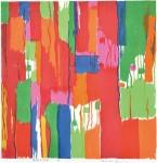 小倉マサヱ / OGURA masae : GARDEN 2 70×70 木版
