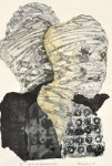 永幡 民子 / NAGAHATA tamiko : Self Interview '17-2 92×63 孔版・コラグラフ