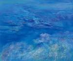 御舩テル子 / MIFUNE teruko : セイレーンたちの海Ⅱ F130 油彩