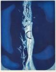 【春陽会賞】澁谷 美求/SHIBUYA miku:青の気配Ⅴ 64×50 銅版