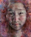 齊藤 澄人/SAITO sumito:私にとっての少女像 F130 アクリル