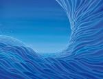花山 敏子/HANAYAMA toshiko:宇海から宙へ F80 油彩