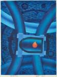 後藤 圭介/GOTO keisuke:海神(48) 56×42 木版
