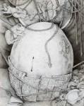 西川 光三/NISHIKAWA mitsuzo:無題 F100 ペン画