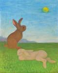 石川 すみ/ISHIKAWA sumi:想い出 91×72.5 油彩