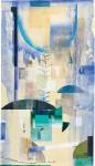 ウチダ ヨシエ/UCHIDA yoshie:イスタンブールでみた夢 118×66 木版・孔版