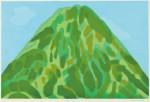 水津 保美/SUIZU yasumi:富士 55.5×84 木版