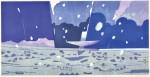 立堀 秀明/TATSUBORI hideaki:ヨルノチチ 40×80 木版