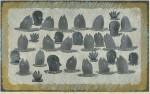 林 和一/HAYASHI waichi:新月の海 51×83 木版