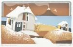 アイト ヨハネス/EIDT johannes:シェルター 60×60 平版・シルクスクリーン