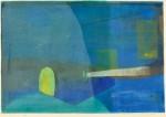 山近 雅子/YAMACHIKA masako:home I 48×69.5 孔版・ペーパースクリーン