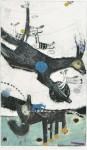 髙橋 キョウシロウ/TAKAHASHI kyoshiro:Dream of Deer-4 59×35.5 ドラポイント・コラージュ