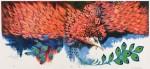 中野 年/NAKANO minoru:朱雀(7) 70×128 平版