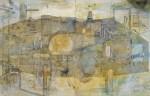 入手 朝子 /IRITE asako:Confusion IV 116.7×182 鉛筆・ペン・水彩