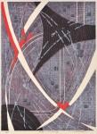 木村 敏明/KIMURA toshiaki:Sta-XXXXIV 83×61 木版・孔版