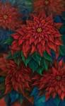 天笠 和美/AMAGASA kazumi:情熱の花Ⅰ 150×95 油彩