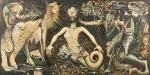 【損保ジャパン日本興亜美術財団賞】今尾 啓吾/IMAO keigo:Rahu 162×324.3 油彩