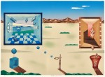【奨励賞】山崎 英子/YAMAZAKI eiko:彼方のヒカリXI 50×70 平版