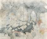 【春陽会賞】冨田 泰世/TOMITA yasuyo:ねこたまご・ポコポコホコラ・六 F130 ミクストメディア・テンペラ・墨
