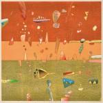立堀 秀明/TATSUBORI hideaki:チト(帰り道山霧の向こうの友に手を振る) 55×55 木版