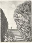 新井 リコ/ARAI riko:月夜の散歩 52×39.5 平版