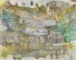 入手 朝子/IRITE asako:Confusion II 145.4×182 鉛筆・ペン・水彩