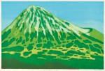 水津 保美/SUIZU yasumi:平成の富士(日本平) 55.5×84 木版