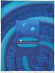 後藤 圭介/GOTO keisuke:海神(52) 56×42 木版