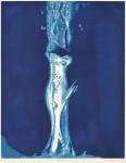 澁谷 美求/SHIBUYA miku:青の気配Ⅷ 64×50 銅版